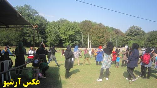 برگزاری جشنواره ورزشهای پارکی در مسجدسلیمان بمناسبت هفته تربیت بدنی